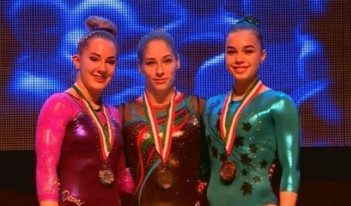 Qadin gimnastimiz dunya kubokunda qizil medal qazandi,idman gimnastikasi uzre Macaristanin Sombatxey seherinde kecirilen Duny Cempionati oncesi Challenge seriyasina