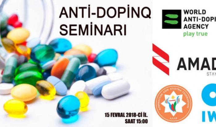 Anti-dopinq seminarı keçiriləcək